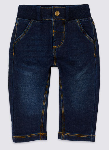 Marks & Spencer Pantolon Mavi